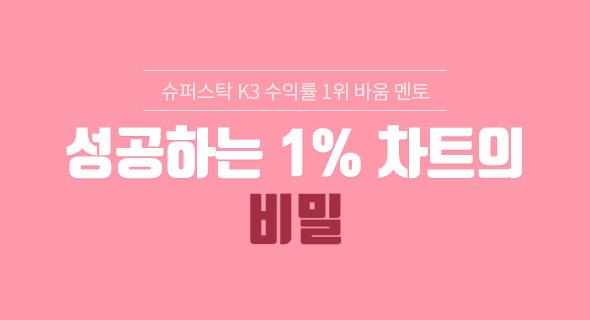 성공하는 1% 차트의 비밀